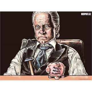Respekt Ilustrace z titulní strany Respektu 33/2011
