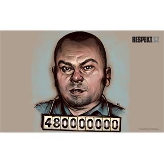 Ilustrace z titulní strany Respektu 42/2012