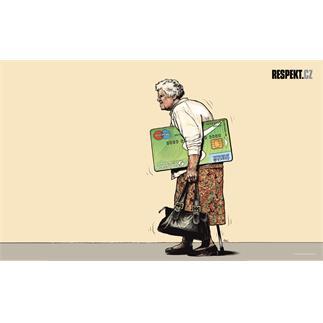 Ilustrace z titulní strany Respektu 44/2012